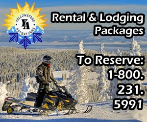 Yellowstone Adventures - snowmobile packages : Combining great accommodations, Ski-Doo® snowmobiles and your choice of guided Yellowstone tour or do-it-yourself backcountry trail rides, we set the bar on vacation value. Let us customize a package for your group, whether for 2 couples or 10 buddies all coming from different locations.