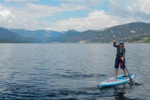 """Madison Arm Resort - water craft rentals :: Enjoy the tranquility of paddling your own SUP, canoe or kayak on Hebgen Lake. Or, take a rental fishing boat to coves where 20+"""" rainbow and brown trout hang out."""