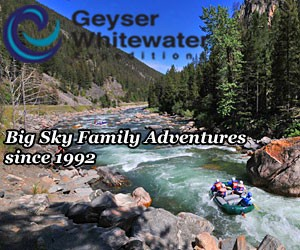 Geyser Adventures - Raft & Zipline Tours : Outdoor adventures for all ages around Big Sky. Enjoy scenic & whitewater floats, bike, kayak & paddleboard rentals, zipline & horseback riding tours, and an indoor climbing wall. Packages and specials offered throughout the season.