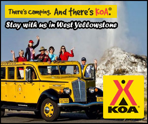 Yellowstone/Westgate KOA - campground & cabins