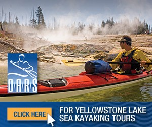 O.A.R.S. - Yellowstone Lake 1/2-day kayaking