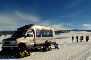 SeeYellowstone Winter Snowcoach Tours :: Providing exceptional adventures in Yellowstone, SeeYellowstone.com offers lodging choices, guided snowcoach or snowmobile tours, equipment rental and clothing.