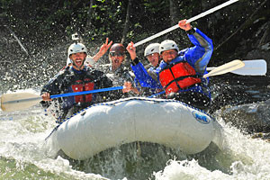 Geyser Whitewater - Big Sky's Local Raft Company