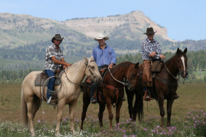 West Yellowstone area trail rides