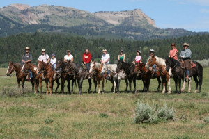 Yellowstone trail rides for wedding parties