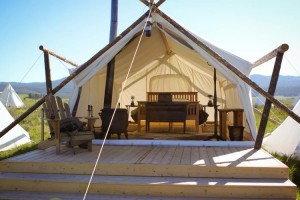 Yellowstone Under Canvas - Tent Cabins