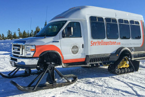Winter Tours of Yellowstone Park