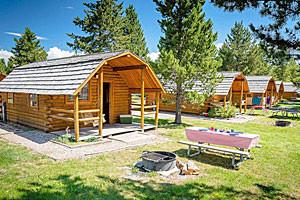 Yellowstone/WestGate KOA - enjoy Kamping Kabins