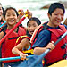 Flying Pig - Whitewater Rafting for families - Half-day raft trips on the Yellowstone River just outside the North (Gardiner) Entrance of Yellowstone. Also available, 1/2-day horseback rides, BBQ cookouts, hikes & more.