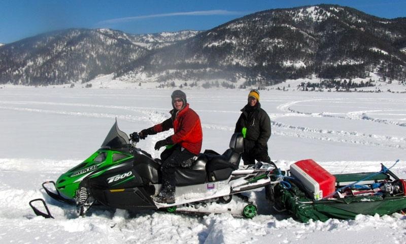 Hebgen Lake Ice Fishing Tournament