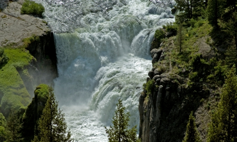 Mesa Falls Island Park Idaho