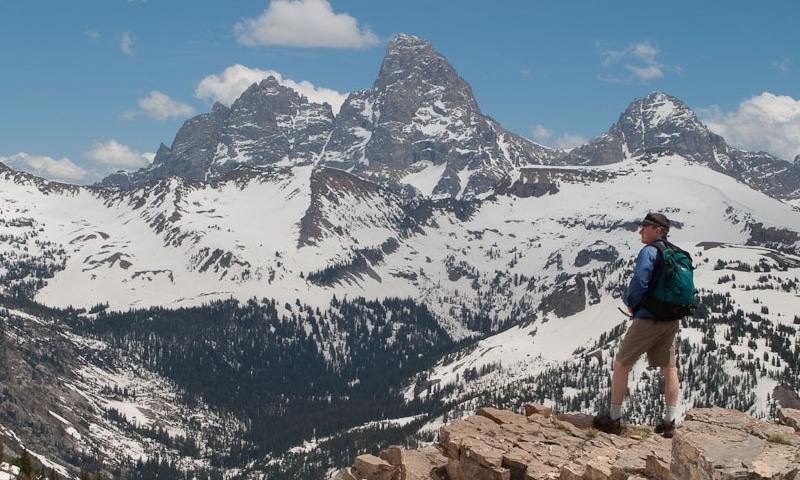 Freds Mountain Grand Targhee Teton Hiking Summit Teton Canyon