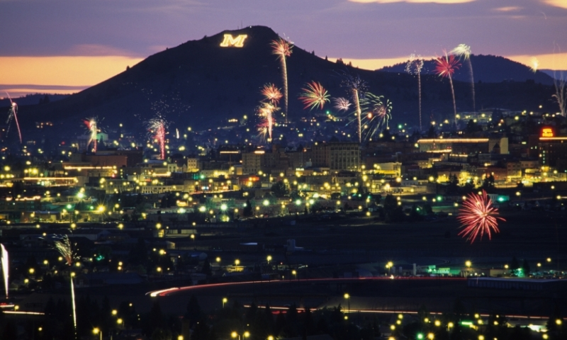Butte Montana Fireworks 4Th Of July