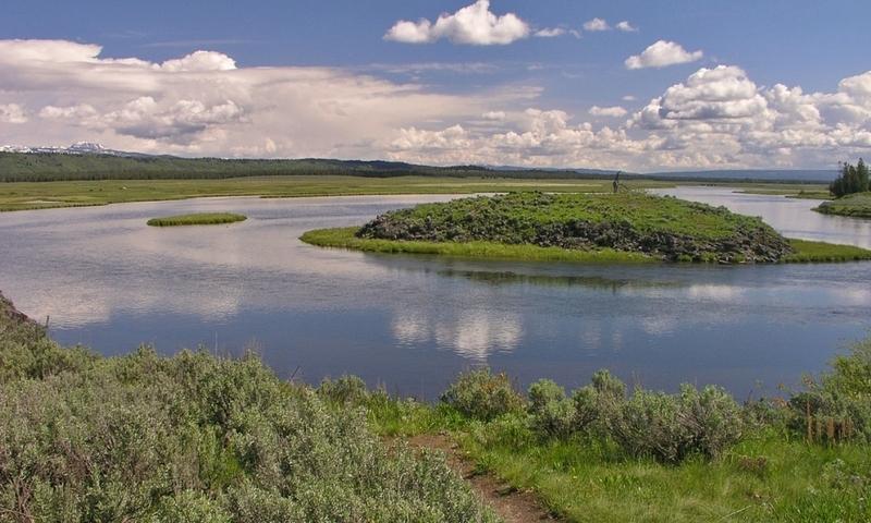 Harriman State Park Idaho Henrys Fork River