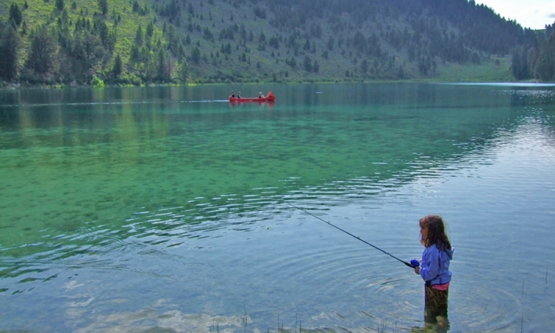Wade Lake Montana Fishing