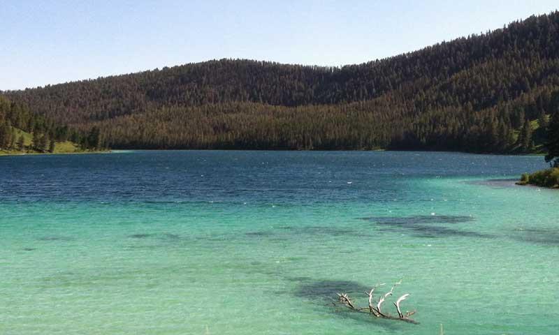 Cliff And Wade Lakes Montana Fishing Camping Boating