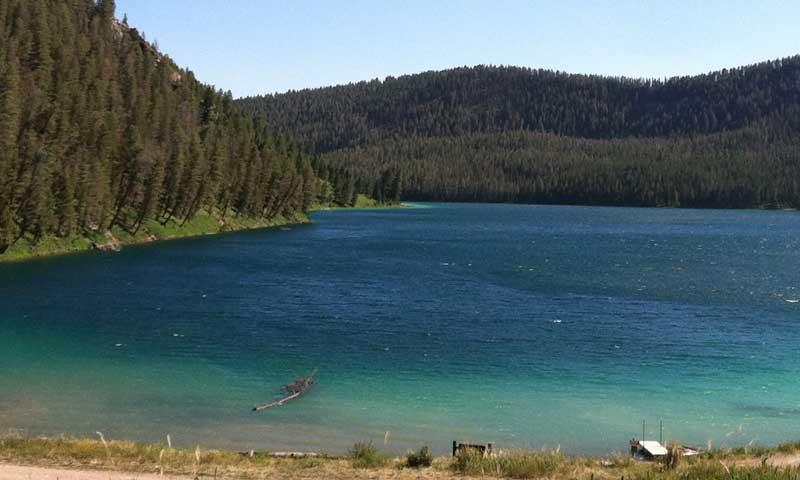 Cliff And Wade Lakes Montana Fishing Camping Boating