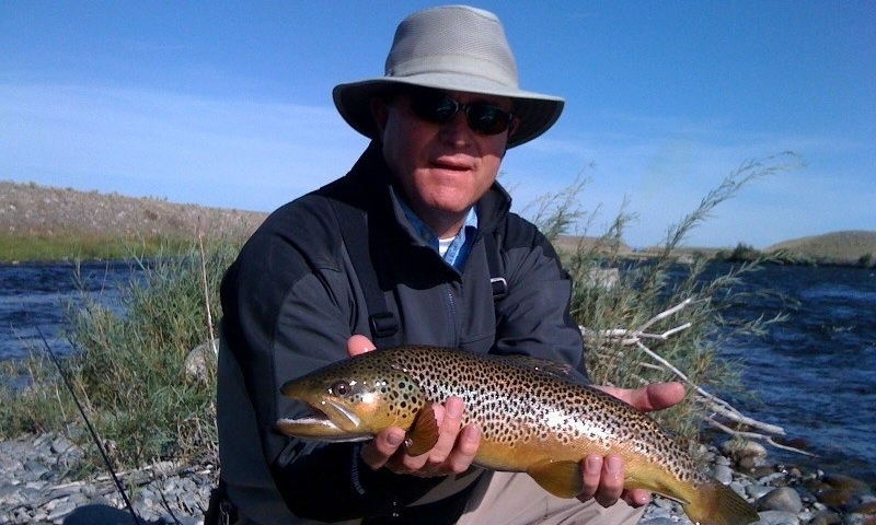 Fishing Fish Trout Madison River Montana