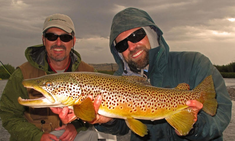 Fishing the Madison