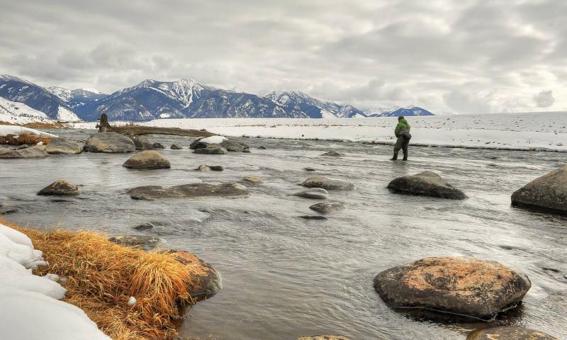 West Yellowstone Winter Fly Fishing