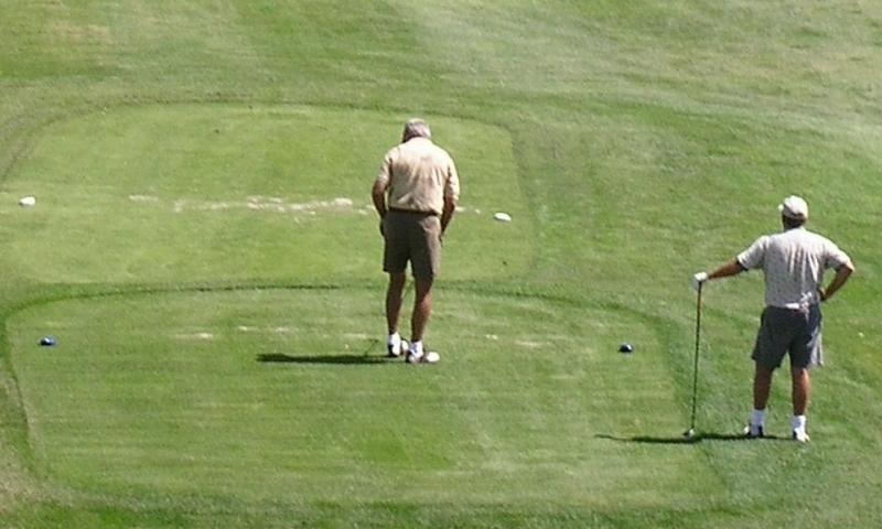 Golf Golfing Cottonwood Golf Course Bozeman Montana