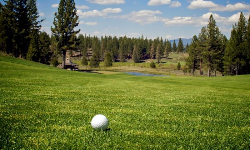 Golf Course Lake Tahoe Golfing