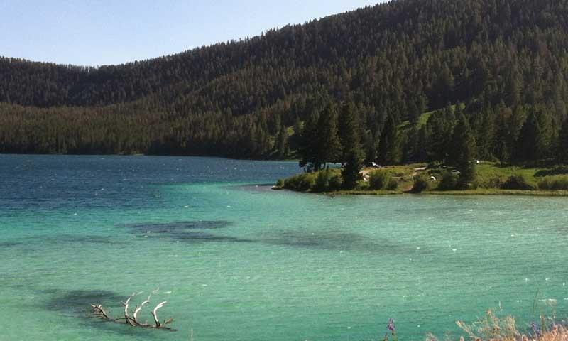 Cliff Lake near West Yellowstone Montana