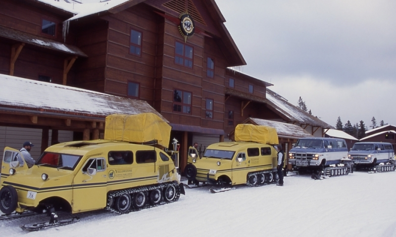 West Yellowstone Montana Snowcoach