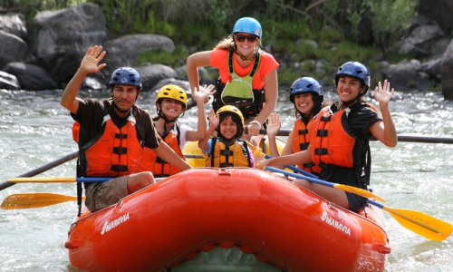West Yellowstone Whitewater Rafting