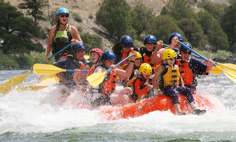 West Yellowstone White Water Rafting