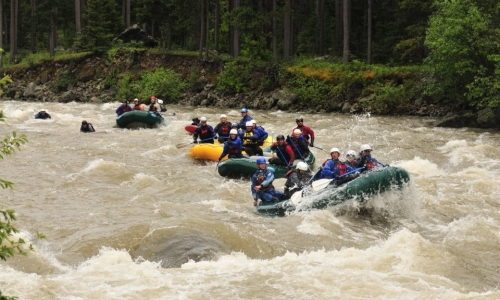 West Yellowstone Rafting